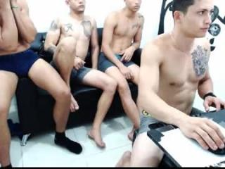 Chriss, scott, & Master sergey we have monstercock's Live Cam